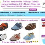 C2BB : vente en ligne de chaussures bébé premiers pas