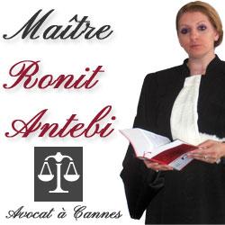 Maître Ronit Antebi - Avocat Cannes