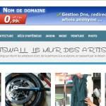 Artswall : le mûr des artistes amateurs.