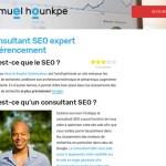 Samuel Hounkpe : consultant seo en freelance