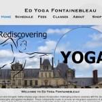 Ed Yoga Fontainebleau : cours de yoga à Fontainebleau