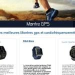 Montre GPS : le guide pour acheter la meilleure
