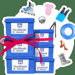 You stock : référence en stockage à l'unité