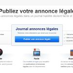 Annonces légales faciles : publier votre annonce légale en ligne