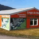 LigneVerte : linge de maison brodé dans les Vosges