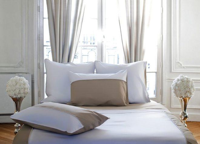 parure de lit en percale