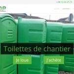 SIPOP : location de toilettes de chantier