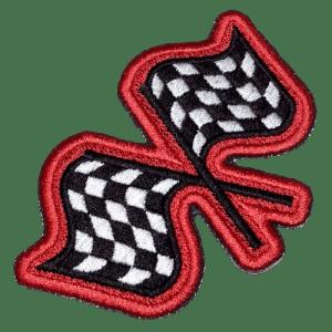 Bandeiras Racing Kart CAR047 Patch Bordado
