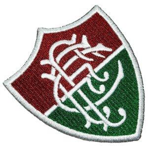 Escudo Brasão Futebol Rio de Janeiro RJ Brasil Patch Bordado