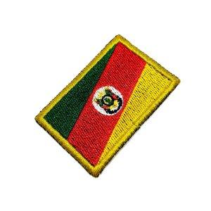 Bandeira Rio Grande do Sul Brasil Patch Bordada passar ferro
