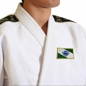 Bandeira Paraná Brasil patch bordada, passar a ferro costura