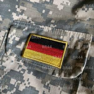 Bandeira Alemanha Patch Bordada passar ferro ou costura