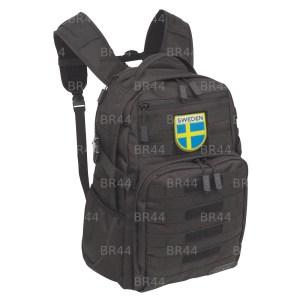 Bandeira Suécia Patch Bordada Fecho Contato Gancho