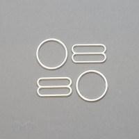 Jewellery Quality Metal Rings Sliders - Bra-Makers Supply