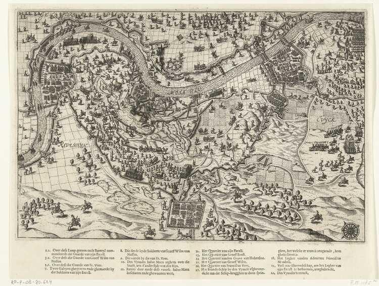 Beleg van Grave 1602 Dolendo