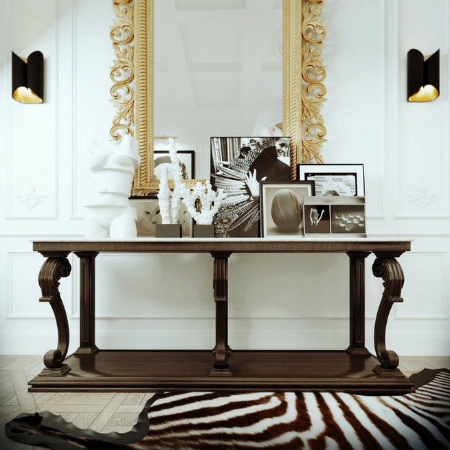 Edgy Console Tables For A Modern Home Decor News & Events By