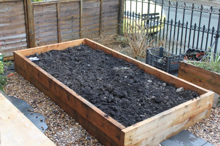 this is a Radnor Raised bed, made by Sector39
