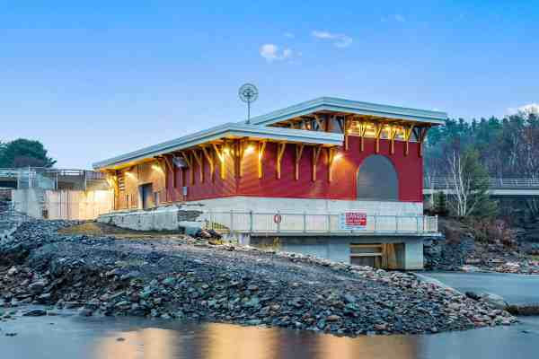 Waterpower Project Expansion Completed In Parry Sound
