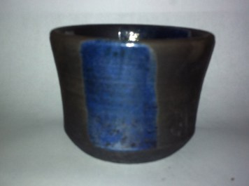 reduced in Sawdust, 2 coats of glaze