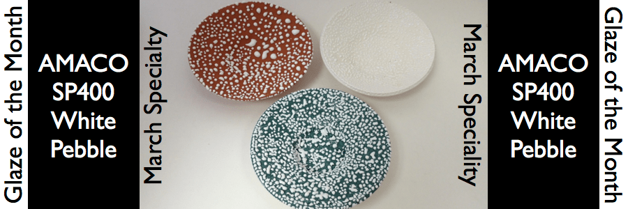 White Pebble: March Specialty Glaze of the Month