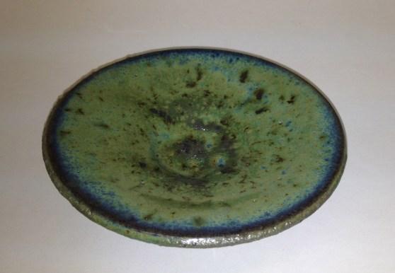 Pistachio under Antique Copper, Cone 5