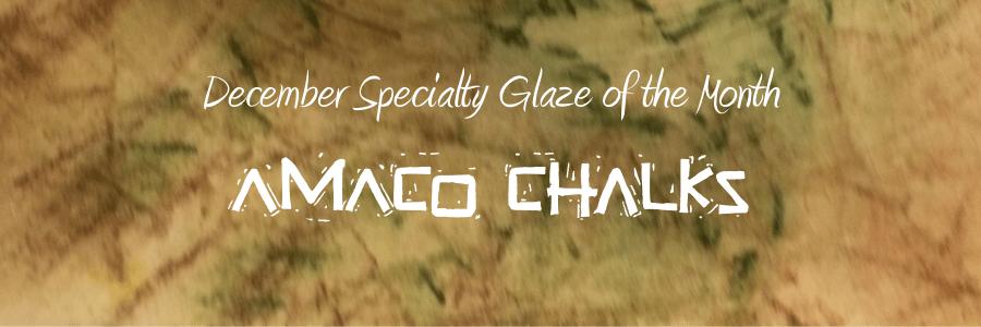 AMACO Underglaze Chalk Sets – December Specialty Glaze of the Month
