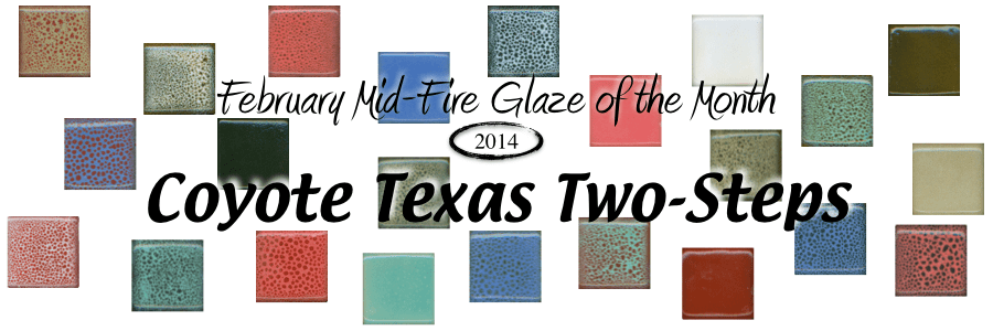 Coyote Texas Two-Steps, February Glaze of the Month