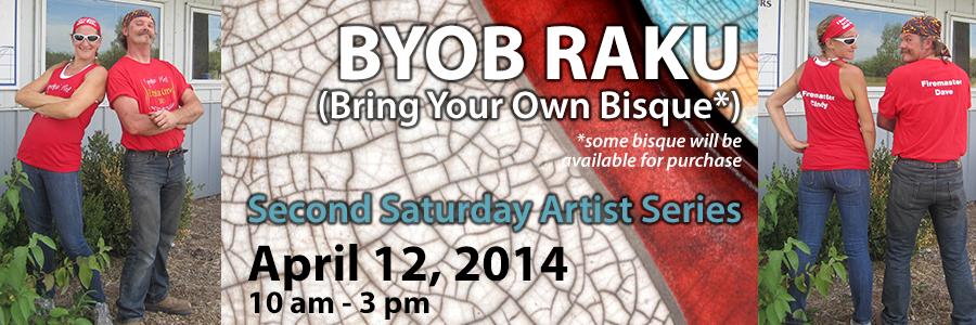 B'Raku is Back!  Second Saturday in April!