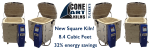 NEW: a Reliable, Even-Firing, True Cone 10 SQUARE kiln