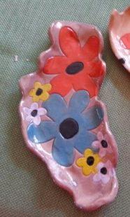 Julie Sieving - Amaco lavender celadon over amaco velvets