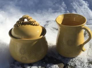 Susan Muller - Marigold on standard porcelain #213