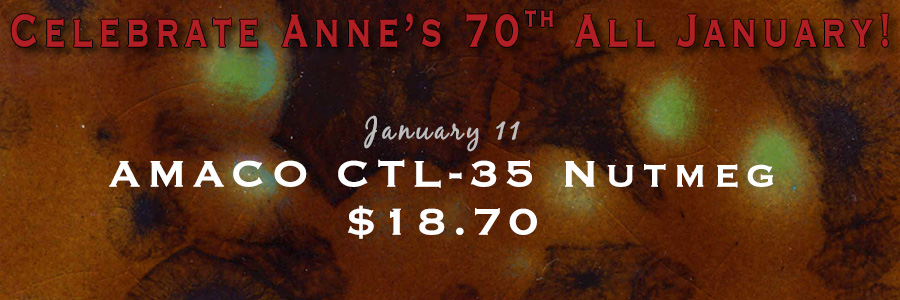 Anne's 70th - AMACO CTL-35 Nutmeg