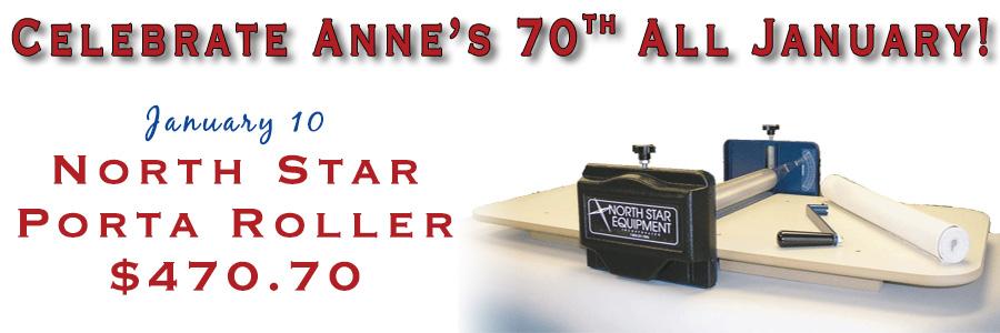 Anne's 70th - North Star Porta Roller
