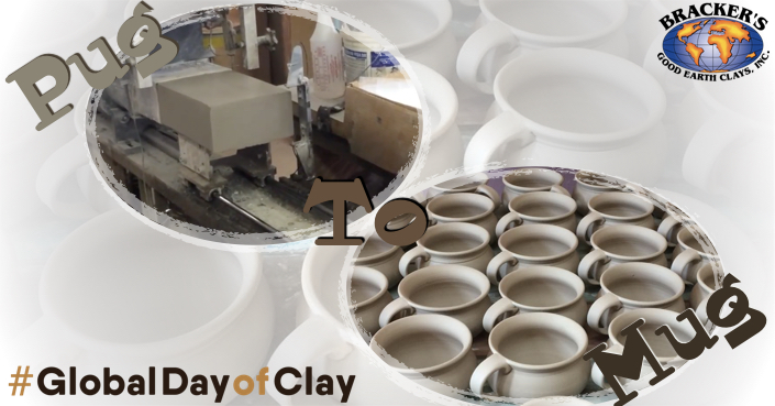 "Join us for ""Pug to Mug"" on #GlobalDayofClay"