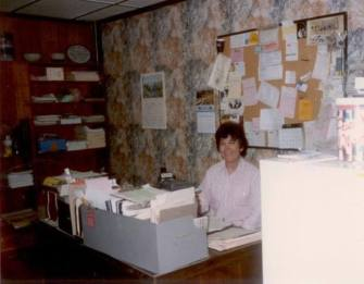 Mom's office in the old building