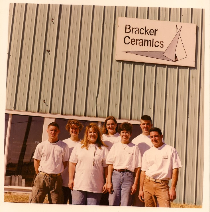 The 1994 crew, back in the old warehouse when it was still Aqua
