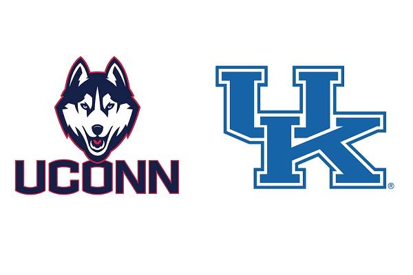 UK vs UConn Logos
