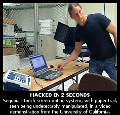 Image result for electronic voting machine hacking