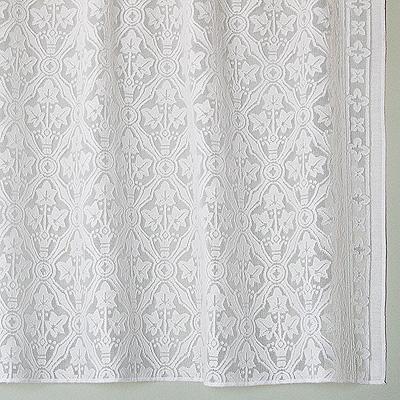 Cotton Lace Curtains Victorian Era Bradbury & Bradbury