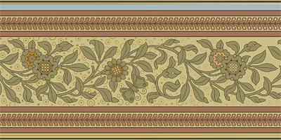 Bradbury Victorian Home Wallpapers Floral Vine Ceiling Border