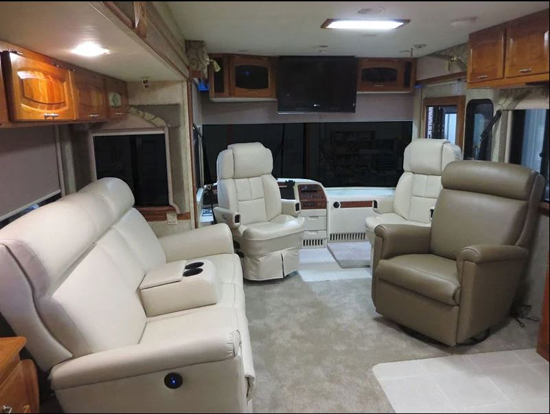Rv Furniture Is It Better To Buy New Or Reupholster Rv