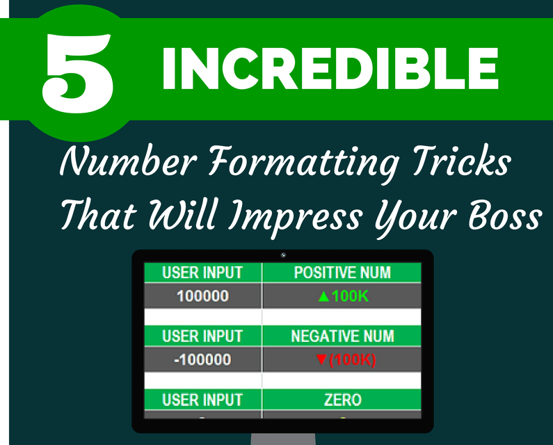 5 Incredible Number Formatting Tricks That Will Impress Your Boss