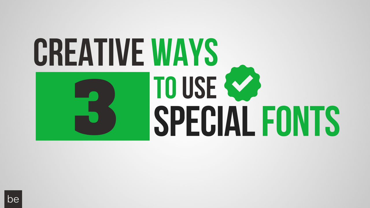 3 Creative Ways to Use Special Fonts to Enhance Your Excel Spreadsheets - BRAD EDGAR