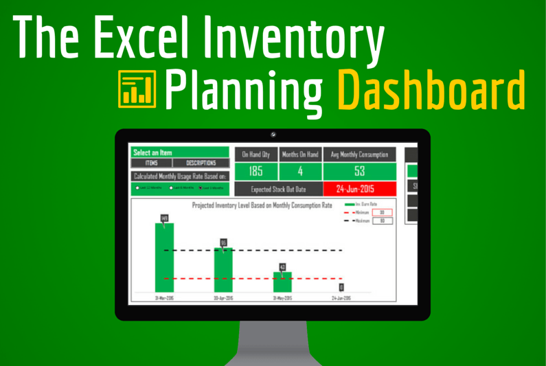 Excel Inventory Planning Dashboard