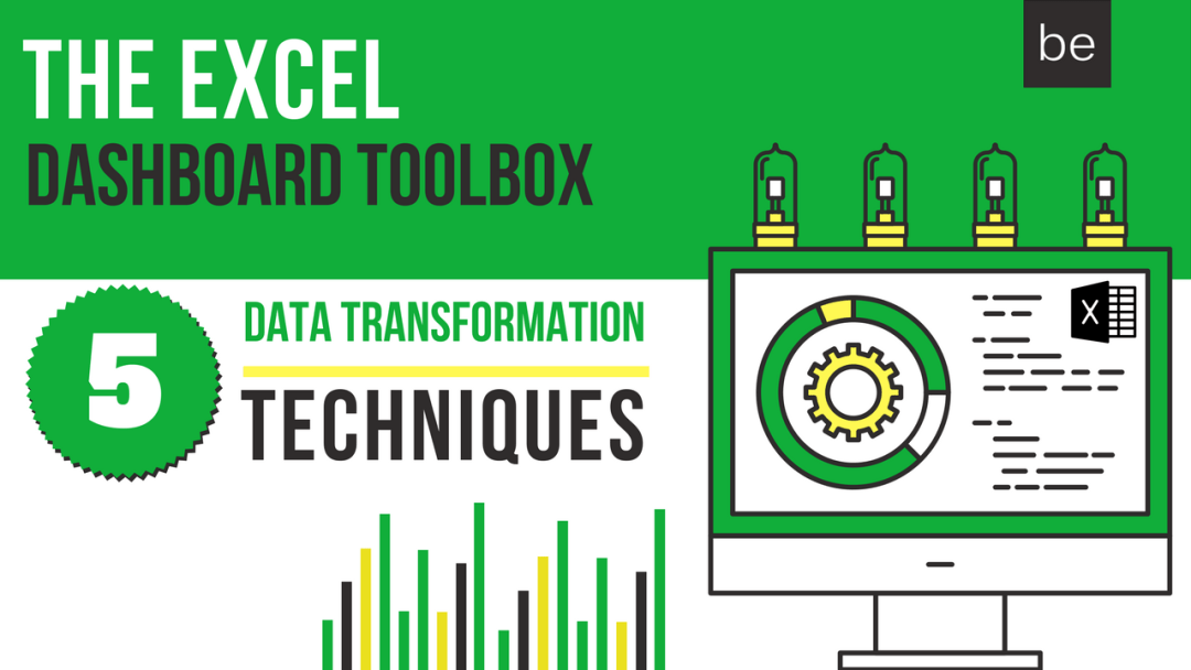 THE EXCEL DASHBOARD TOOLBOX - BACKGROUND
