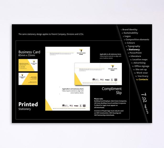 corporate id and branding
