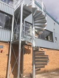 Steel Fabricators of Balconies, Staircases. external ...