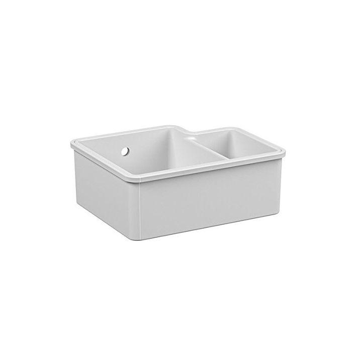 reginox tuscany 1 5 bowl ceramic undermount kitchen sink