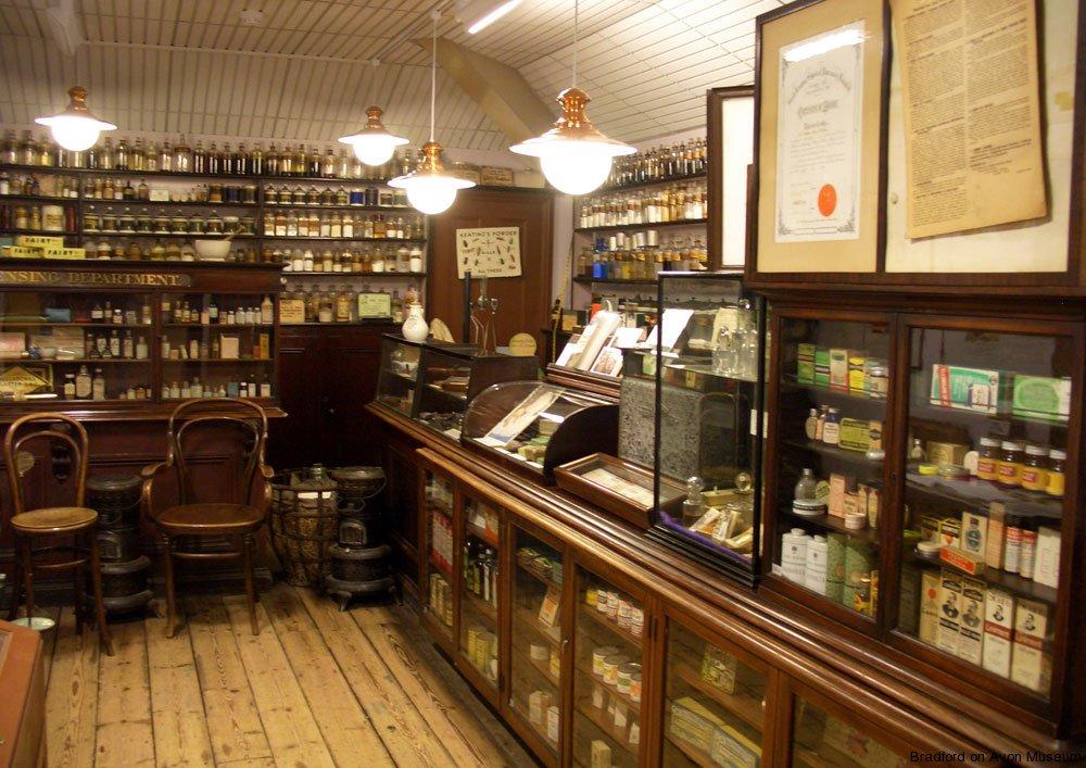 The chemist shop history  Bradford on Avon Museum