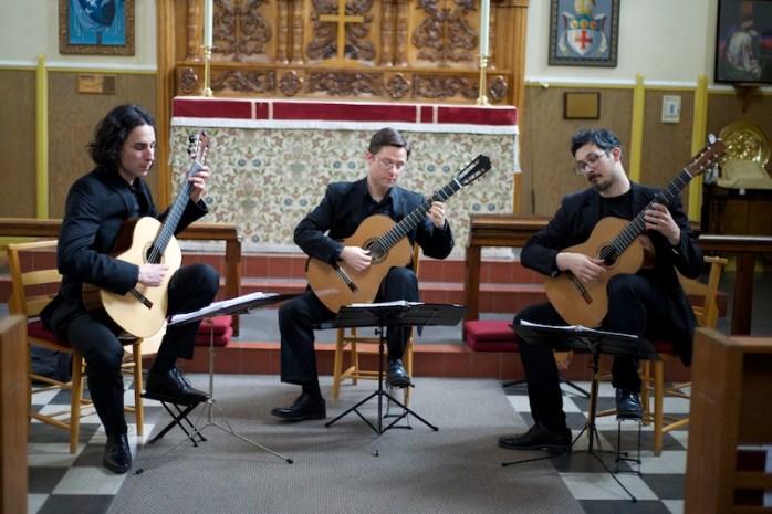 Victoria Guitar Trio in Concert